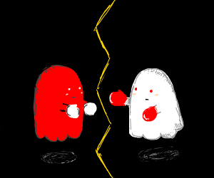 ghost vs red ghost