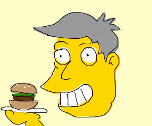 Seymour offering steamed hams