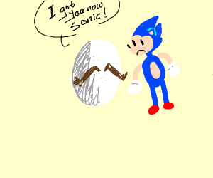 Literal egg man will get sonic