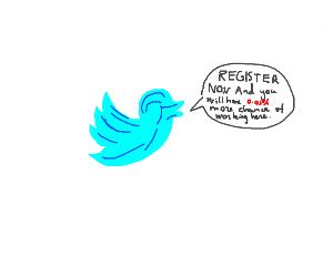 Twitter's strangest marketing campaign yet
