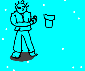 The Karate guy from Rhythm Heaven