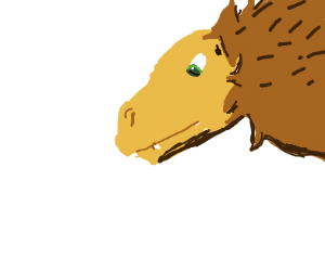 A real Dinosaur (with feathers)