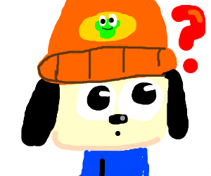 Parappa the rappa is confused