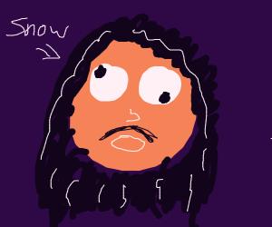 Jon Snow with Googly Eyes