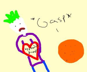 Joker divorcing Orange