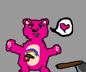 Stalker care bear loves you