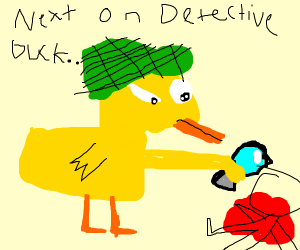 Detective Duck solves a murder mystery