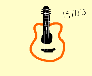 1970's Guitar