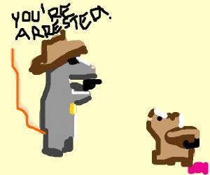 sheriff rat