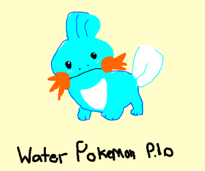 Water pokemon PIO