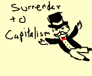 Step 414: Surrender to the Monopoly Man
