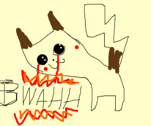 a cute Pokemon? looking at bwahh