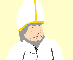 The pope?