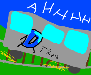 Drawception Train is Derailed!