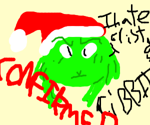 The Grinch is confirmed a frog