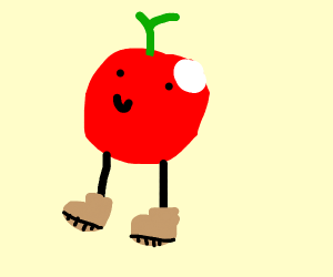 Fruit wearing Shoes