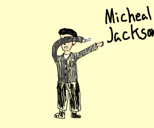 Michael Jackson dabs on his haters