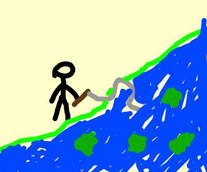 fishing for iceberg lettuce