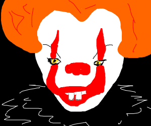 Killer clown from IT