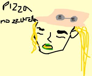 Gyro ZEPELLI singing Pizza Mozzarella  :D