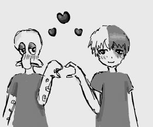 Squidward+ Todaroki