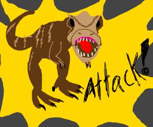 T-rex attack!