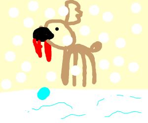 Rudolph the Black-Nosed Vampire