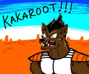 Werewolf saying kakaroot