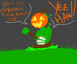 What is the meaning of Halloween? Banjo.