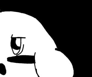 A plain Kirby