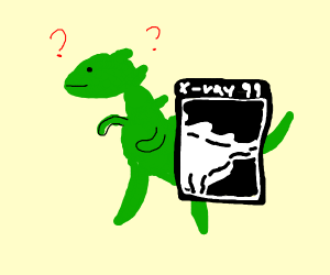 X-ray this dino