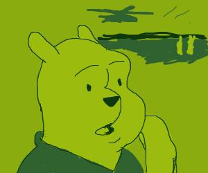 Pooh bear veteran has Vietnam PTSD