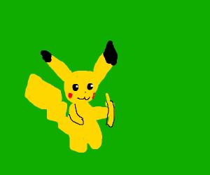 Pikachu With a Banana