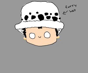 furry hat kid
