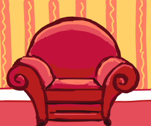 product(red) couch