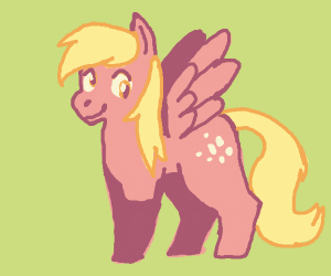 3-Legged Derpy Pony