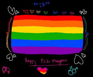 Gay Pride Flag :3