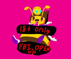 a NSFW Queen Bee