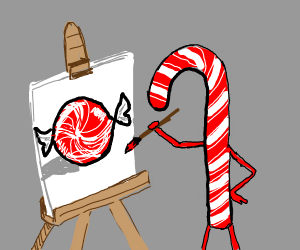 candy cane paints