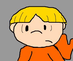 The blonde boy from Kids Next Door