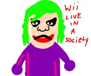 wii live in a society