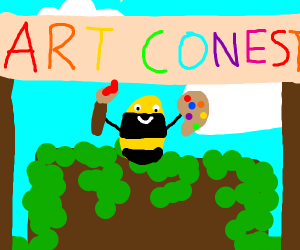 Bee announces an art contest