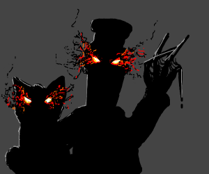 Postman Pat is a demonic shadow
