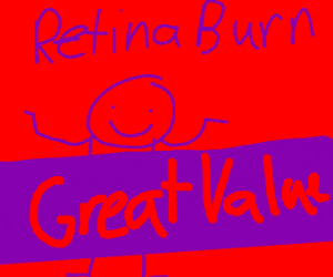 Make retina burn with the default palette