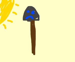 shovel without knight