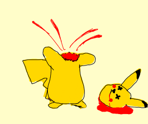 Severed pikachu
