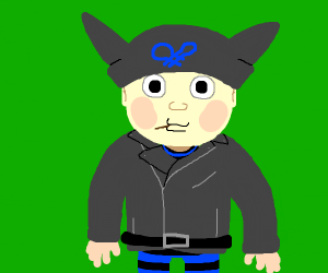 Ryoma Hoshi Drawception Can you do a sprite animation of hoshi with his hat's horns twitching like cat ears? ryoma hoshi drawception