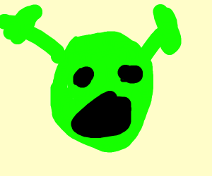 Extremely suprised shreck