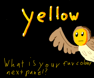 Whats your favorite color next panel?(continu