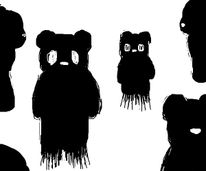 Shadowy bear-like mammals
